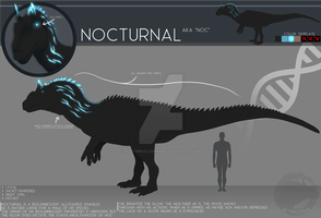 OC Ref Sheet - Nocturnal by NocturnalCarnage