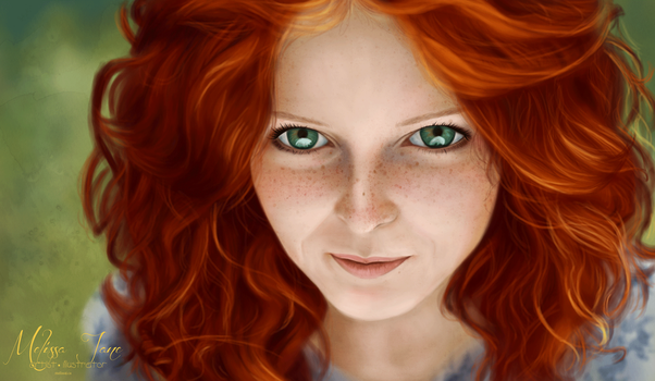 Red-haired Lass by melissyjane