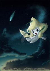 Commission 1: Jirachi by Izagar