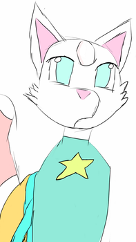 Peral the Gem Cat! by BearclawMlp