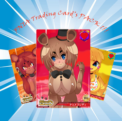 FNIA Trading Card's Pack1!! by nightmarebonnie1381