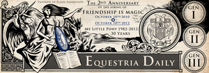 Friendship is Magic 2nd Anniversary by SouthParkTaoist