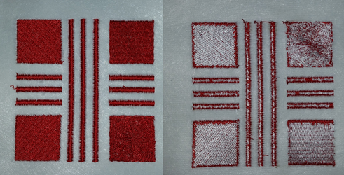 Embroidery Machine Tension Test by EthePony