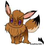 ::.Eevee request.:: by Piko-Ai-chan
