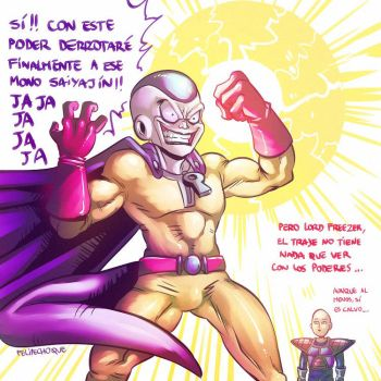 Frieza's New Powers by FelipeChoque