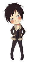 :Izaya: by pepperlicious