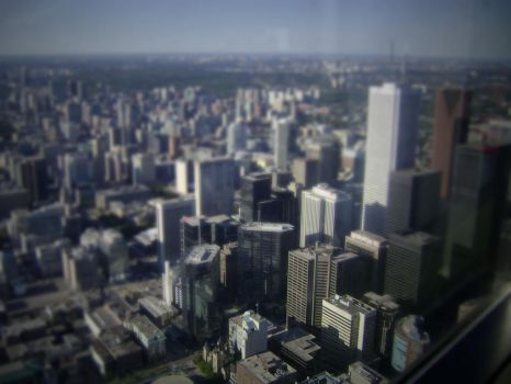 TiltShift Downtown Toronto by puner