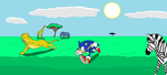 sonic in africa by AUBREY1144
