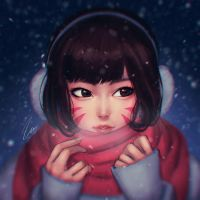 Winter D.va by umigraphics