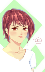 it's me pouting by watanabe1