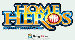LOGO DESIGN: Home Heros by designfxpro