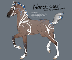 5689 - Nordanner Foal Design by Ikiuni