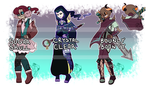 [CLOSED - OTA ] Skele-TON of Adopts :: Batch 1:: by NobleChinchi