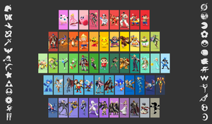 Super Smash Brothers Wallpaper + News (Finished!) by Kaiology