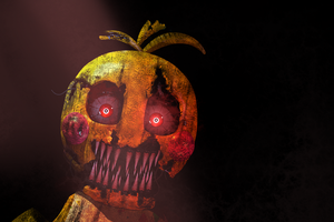 Commission  - NightMare ToyChica by Christian2099
