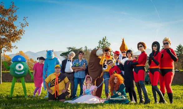 Pixar Cosplay Group by Yuichan90