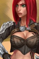 Katarina (WIP) - League of Legends by Sciamano240