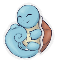 Squirtle Chibi by strxbe
