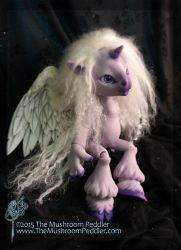 Magic the Unicorn - purple by TheMushroomPeddler