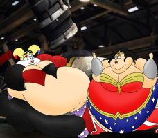 Injustice: Fatties edition by Robot001