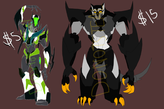 Transformer Adopts (CLOSED) by AndroidAss