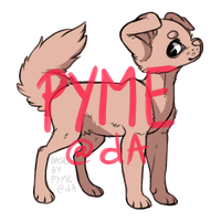 (P2U) - Puppy lineart (100pts) by pyme