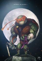 TMNT - MICHELANGELO by Dmaghar
