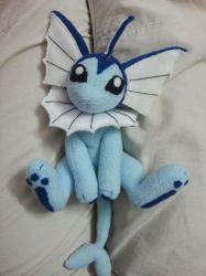 Vaporeon in cute pose by jackie198