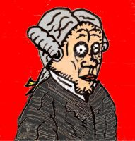 R. Crumb's Kant (Color) by ethicistforhire