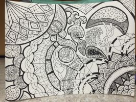 ZenDoodle #1  by Surdy12321