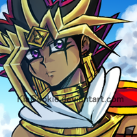 S_Another Assassin Atem drawing. by KiaSimo