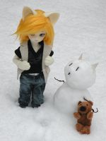 Mister Snowkitty by stievel