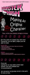 Tips for Making An Original Monster High Character by SpicePrincess
