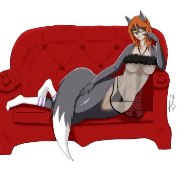 Comfy Couch by Viverbitt
