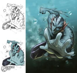 Abe Sapien by RecklessHero