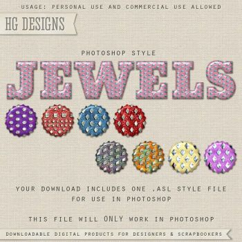 PS Style: JEWELS by HGGraphicDesigns