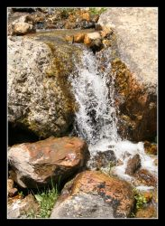 bloomington waterfall by EnigmaticReactions