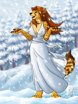 Winter Lady by meowtw