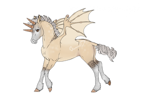 F111 Foal Design - Ginger Sparkler by Fade--Touched