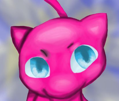 MEW PAINTING FAIL by DrizzleTheBeach