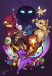 Spyro: Year of the Dragon by Lushies-Art