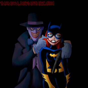 BatGirl Cover-Batman Animated Ver. by Tazawa