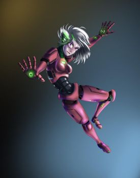 Koral - The Android by Ferroth