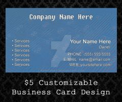 Customizable Business Cards - 08 by PointyHat
