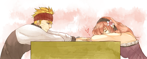 Naruto: Everyday Love - Nap time by Kaleta