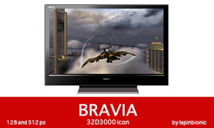 Bravia 32D3000 icon by lapinbionic