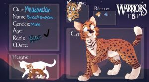 Ain't Personal, Strictly Business - Brackenpaw by Coldgame101