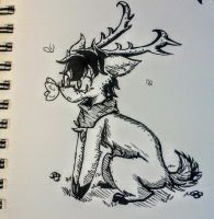 Lil Joey (inktober2017.day13) by lallibear