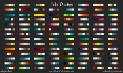 Color Palettes by knti88