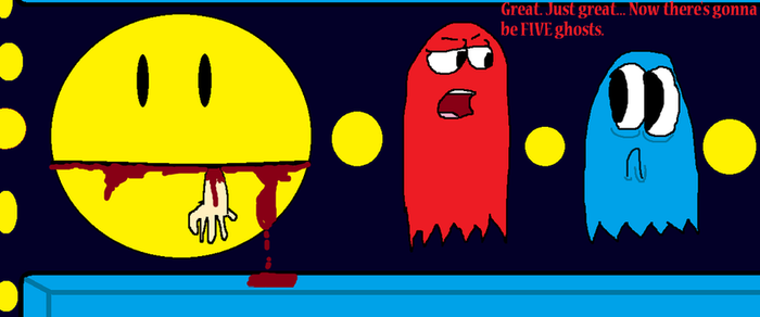 pac-man comic by Doodlee-is-evil